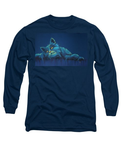Long Sleeve T-Shirt featuring the drawing Daydreams by Cynthia House