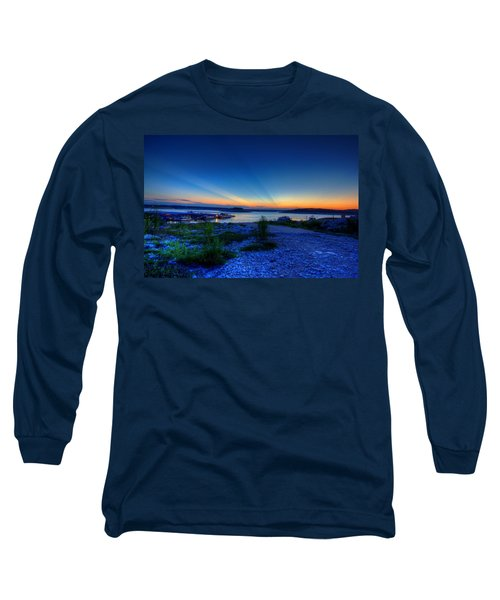 Long Sleeve T-Shirt featuring the photograph Days End by Dave Files