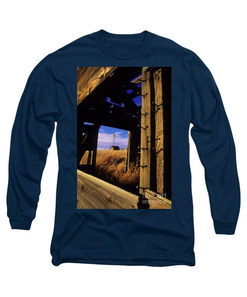 Days Gone By Long Sleeve T-Shirt by Bob Christopher