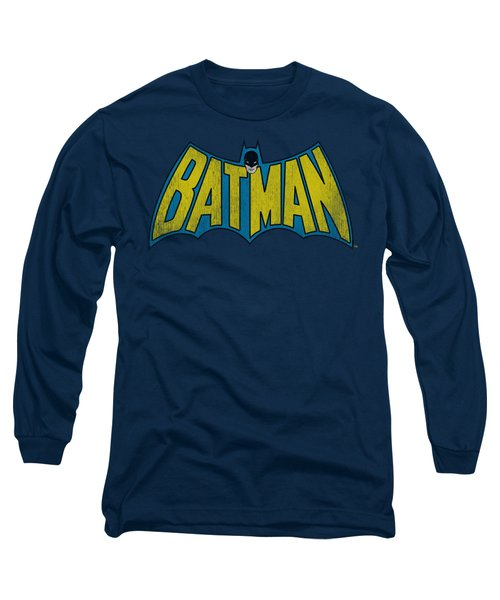 Dc - Classic Batman Logo Long Sleeve T-Shirt
