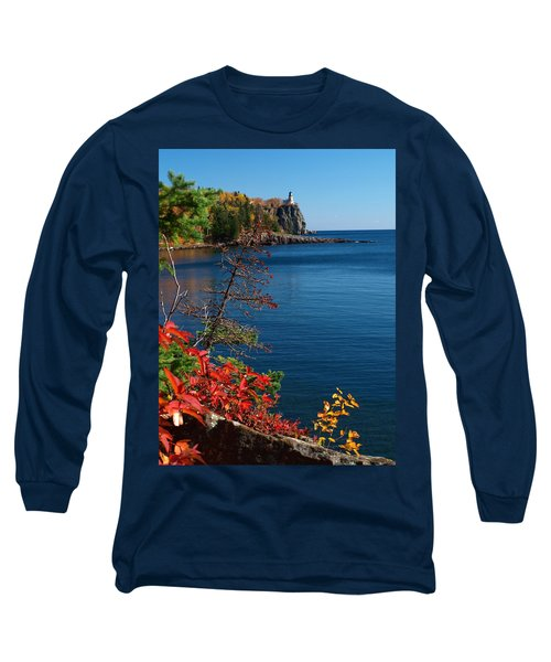 Deep Blue Superior Long Sleeve T-Shirt