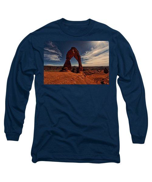Delicate Arch Afternoon Glow Long Sleeve T-Shirt
