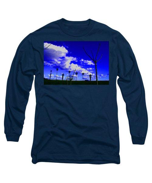 Delta Clouds Long Sleeve T-Shirt