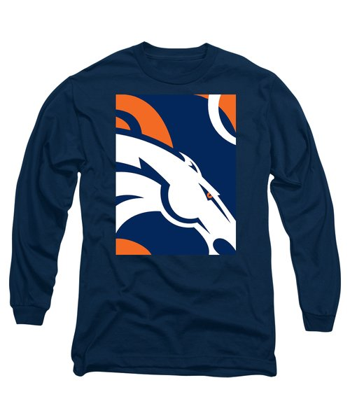 Denver Broncos Football Long Sleeve T-Shirt