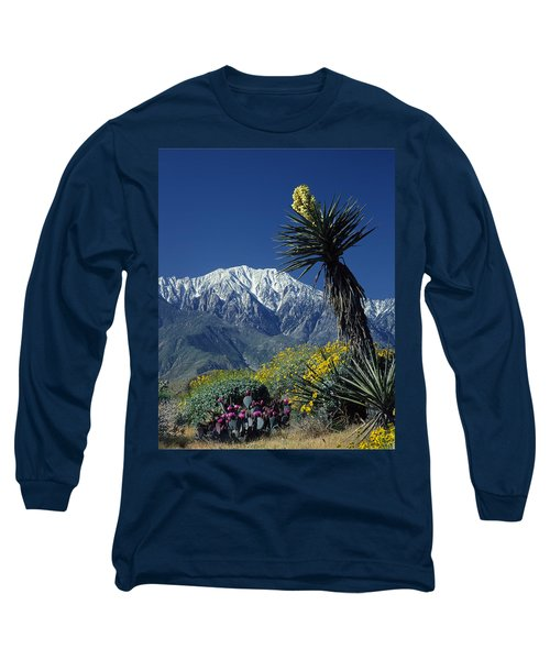 Desert Blooms Long Sleeve T-Shirt