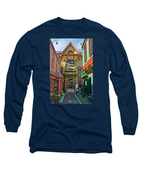 Dinks Taxi In Bar Harbor Long Sleeve T-Shirt