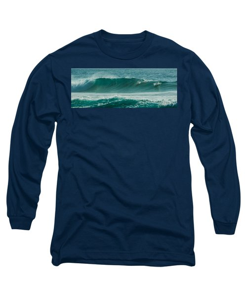 Dolphins In Wave 10 Long Sleeve T-Shirt