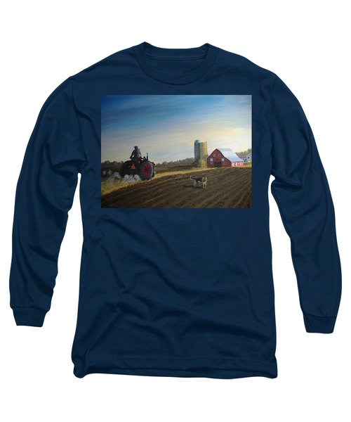 Done For The Day Long Sleeve T-Shirt by Norm Starks