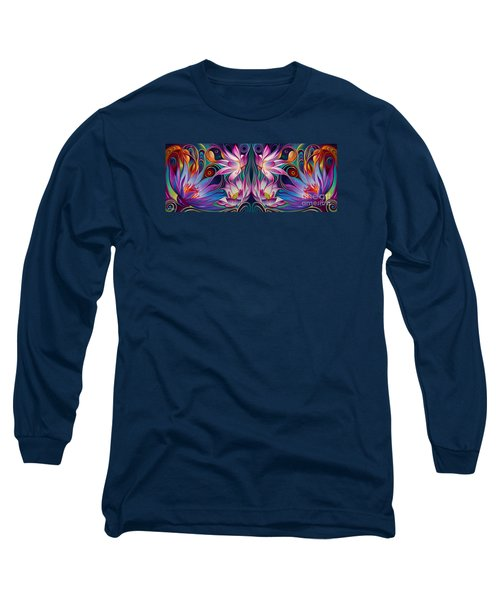 Double Floral Fantasy 2 Long Sleeve T-Shirt