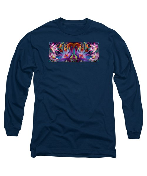 Double Floral Fantasy Long Sleeve T-Shirt