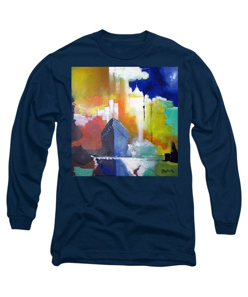 Down The Hudson Long Sleeve T-Shirt by Gary Smith