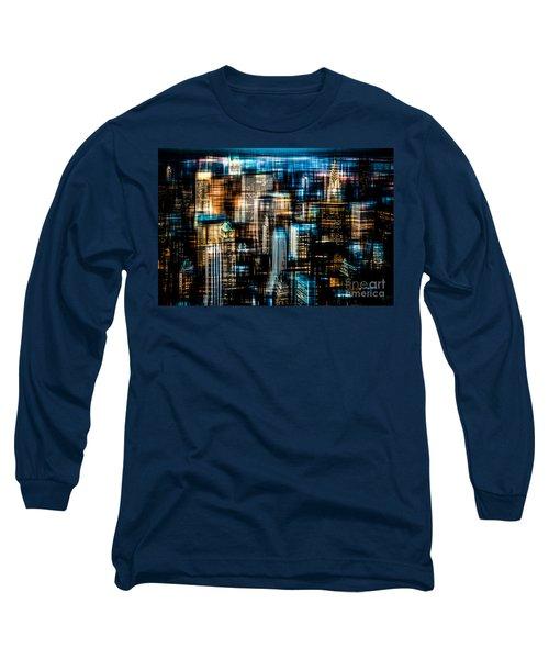 Downtown II - Dark Long Sleeve T-Shirt