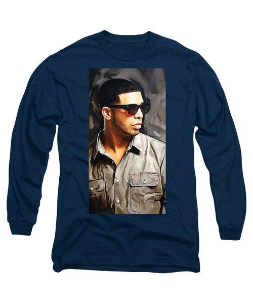 Drake Artwork 2 Long Sleeve T-Shirt