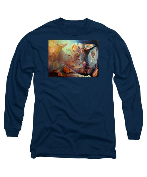 Dream Immersion Long Sleeve T-Shirt by Mikhail Savchenko