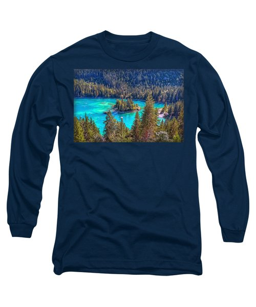 Dream Lake Long Sleeve T-Shirt by Hanny Heim