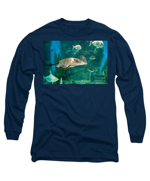 Drifting Through Life Long Sleeve T-Shirt by Ray Warren