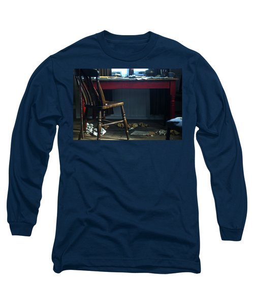 Dylan Thomas Writing Shed Long Sleeve T-Shirt