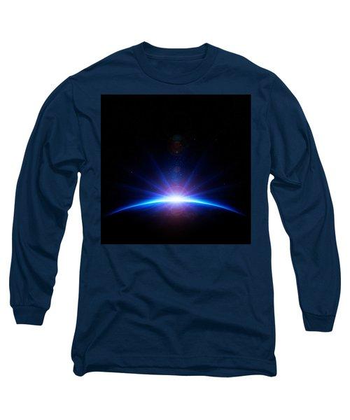 Earth Sunrise Long Sleeve T-Shirt