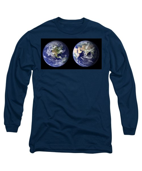 East And West Long Sleeve T-Shirt