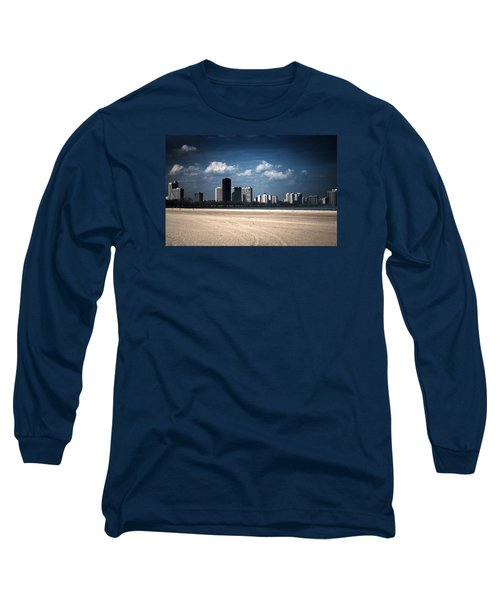 Long Sleeve T-Shirt featuring the photograph Edgewater by Milena Ilieva