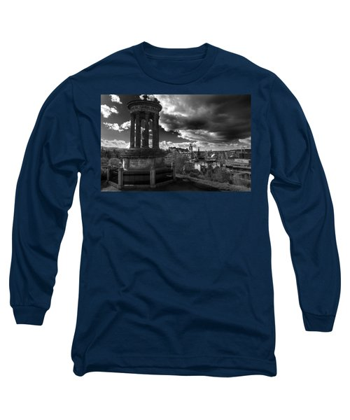 Edinburgh From Calton Hill Long Sleeve T-Shirt