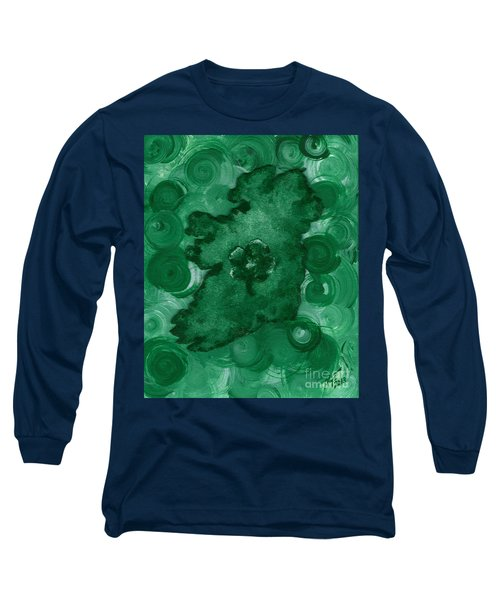Eire Heart Of Ireland Long Sleeve T-Shirt by Alys Caviness-Gober
