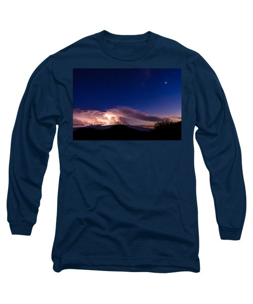 Electric Heavens 1 Long Sleeve T-Shirt