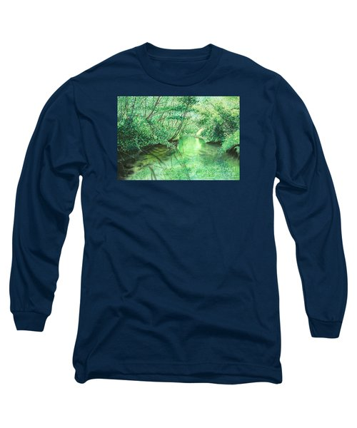 Emerald Stream Long Sleeve T-Shirt