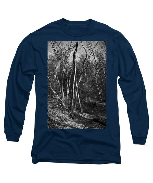 Enchanted Forest Long Sleeve T-Shirt by Yulia Kazansky