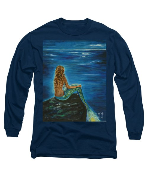 Enchanted Mermaid Beauty Long Sleeve T-Shirt