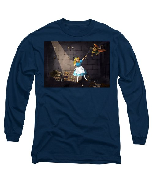 Long Sleeve T-Shirt featuring the painting Escape by Reynold Jay