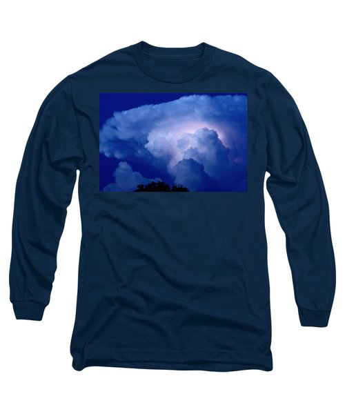 Long Sleeve T-Shirt featuring the photograph Evening Giant by Charlotte Schafer
