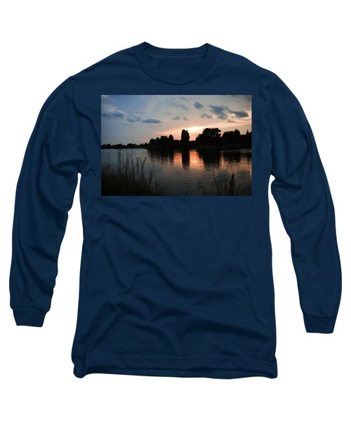 Evening Reflection Long Sleeve T-Shirt
