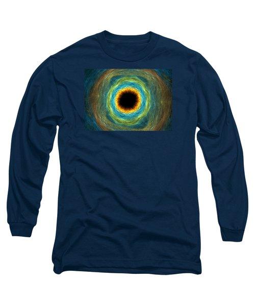 Eye Iris Long Sleeve T-Shirt by Martin Capek