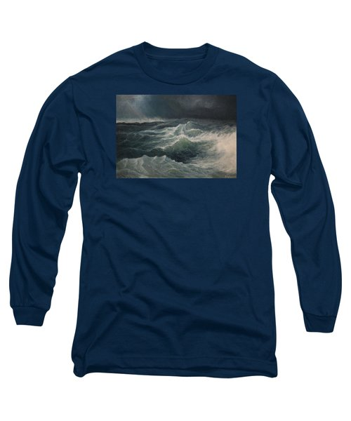 Eye Of Storm Long Sleeve T-Shirt by Mikhail Savchenko