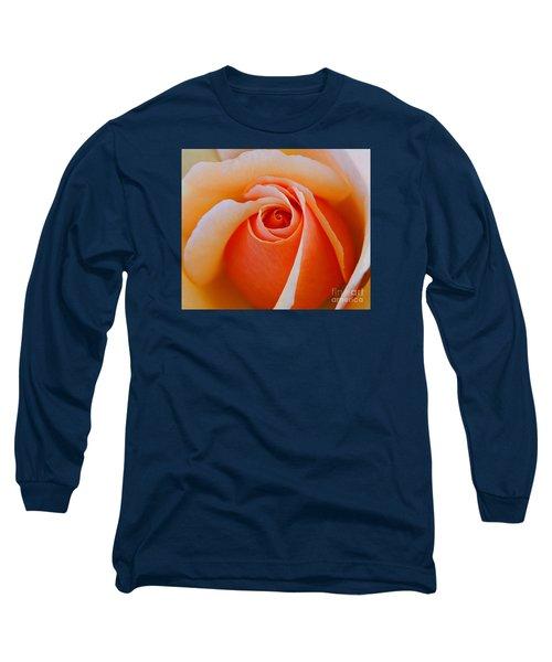 Eye Of The Rose Long Sleeve T-Shirt by Nick  Boren
