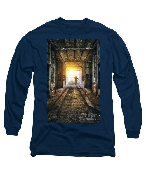 Factory Chase Long Sleeve T-Shirt by Carlos Caetano