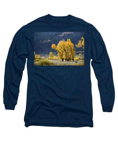 Fall In Yellowstone Long Sleeve T-Shirt
