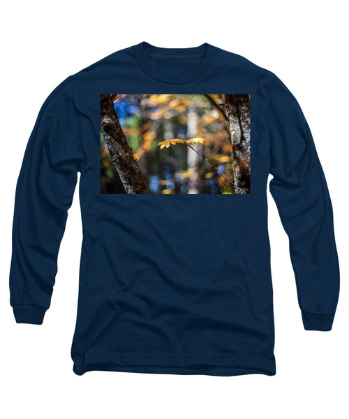 Long Sleeve T-Shirt featuring the photograph Fall Suspended by Aaron Aldrich