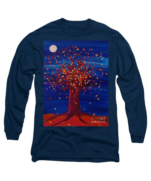 Fall Tree Fantasy By Jrr Long Sleeve T-Shirt