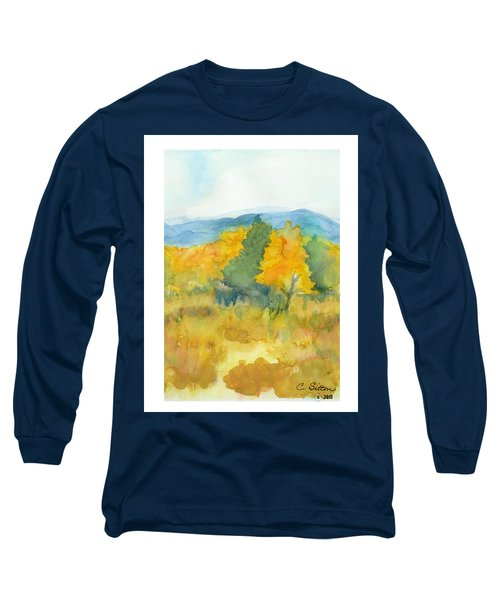 Fall Trees Long Sleeve T-Shirt by C Sitton