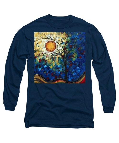 Feel The Sensation By Madart Long Sleeve T-Shirt