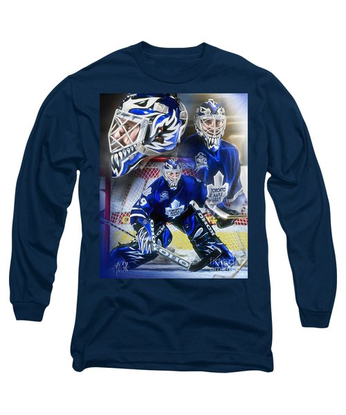 Long Sleeve T-Shirt featuring the painting Felix The Cat by Mike Oulton ff9c2e5f8
