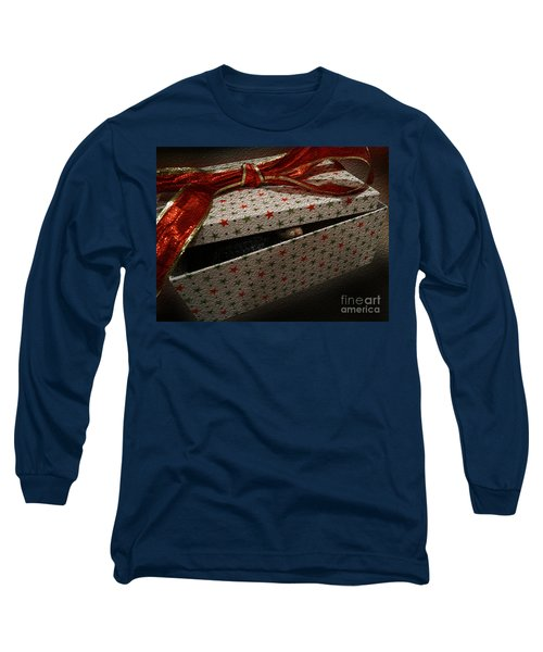 Long Sleeve T-Shirt featuring the photograph Ferrety Christmas by Cassandra Buckley
