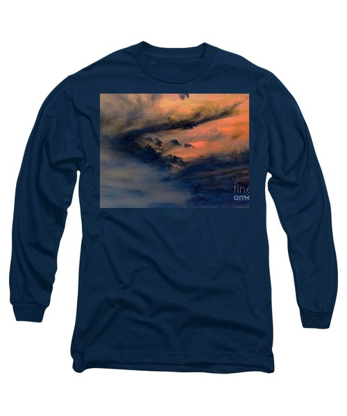 Fire In The Hills Long Sleeve T-Shirt