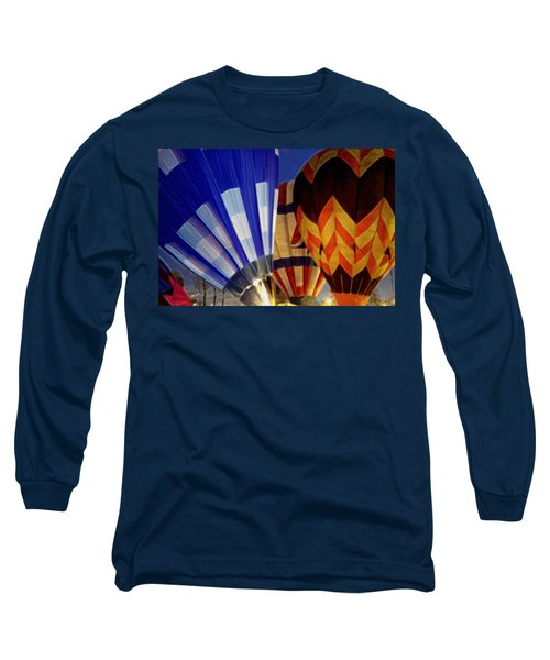 Firing Up Long Sleeve T-Shirt by Kathy Bassett