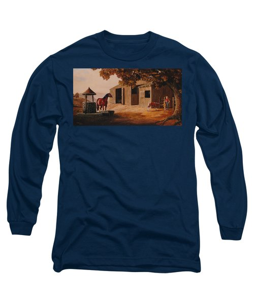 First Meeting Long Sleeve T-Shirt by Duane R Probus