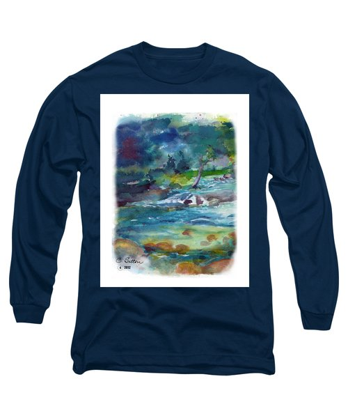 Fishin' Hole 2 Long Sleeve T-Shirt by C Sitton