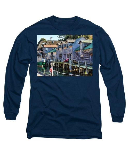 Fishtown Leland Michigan Long Sleeve T-Shirt