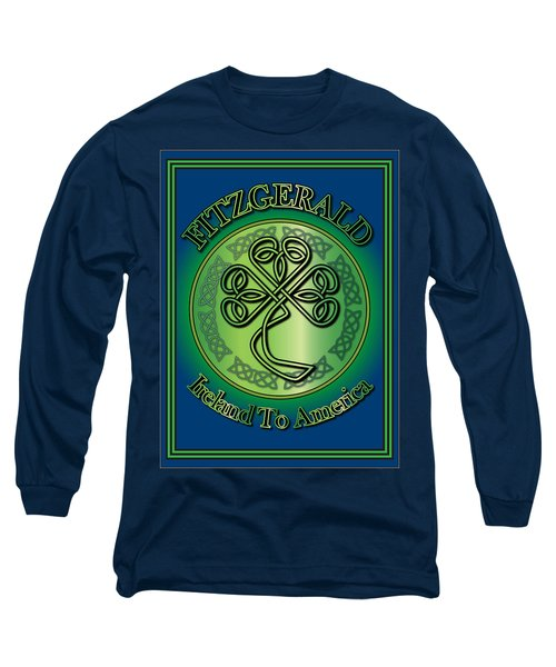 Fitzgerald Ireland To America Long Sleeve T-Shirt by Ireland Calling